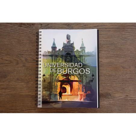 Cuaderno de anillas UBU