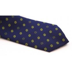 Corbata cruz azul y verde UBU