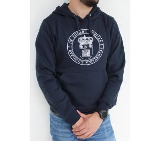 Sudadera escudo UBU azul marino