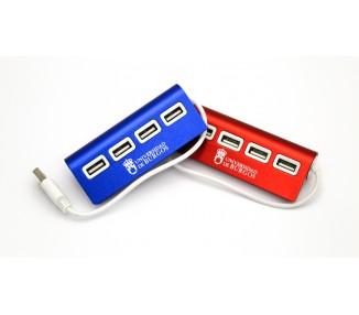 Conector HUB 4 puertos USB
