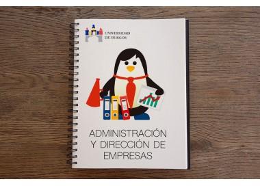 Cuaderno de titulaciones: Administración y Dirección de Empresas