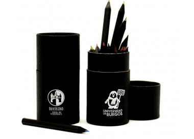 Bote de lápices de colores