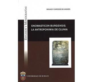 Onomasticon Burgensis. La antroponimia de Clunia