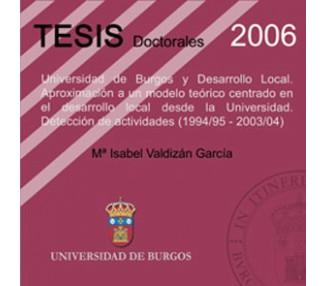 Universidad de Burgos y Desarrollo Local: Aproximación a un modelo teátrico centrado en el desarrollo local desde la Universida