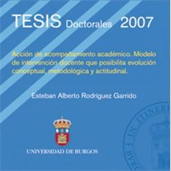 Acción de acompañamiento académico. Modelo de intervención docente que posibilita evolución conceptual, metodológica y actudinal
