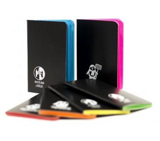Mini libreta de colores