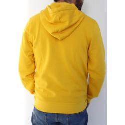 Sudadera escudo UBU amarilla trasera