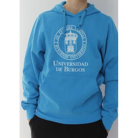 Sudadera escudo UBU turquesa
