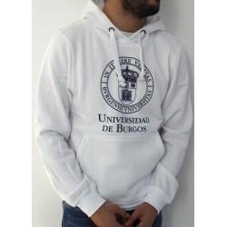 Sudadera escudo UBU blanca