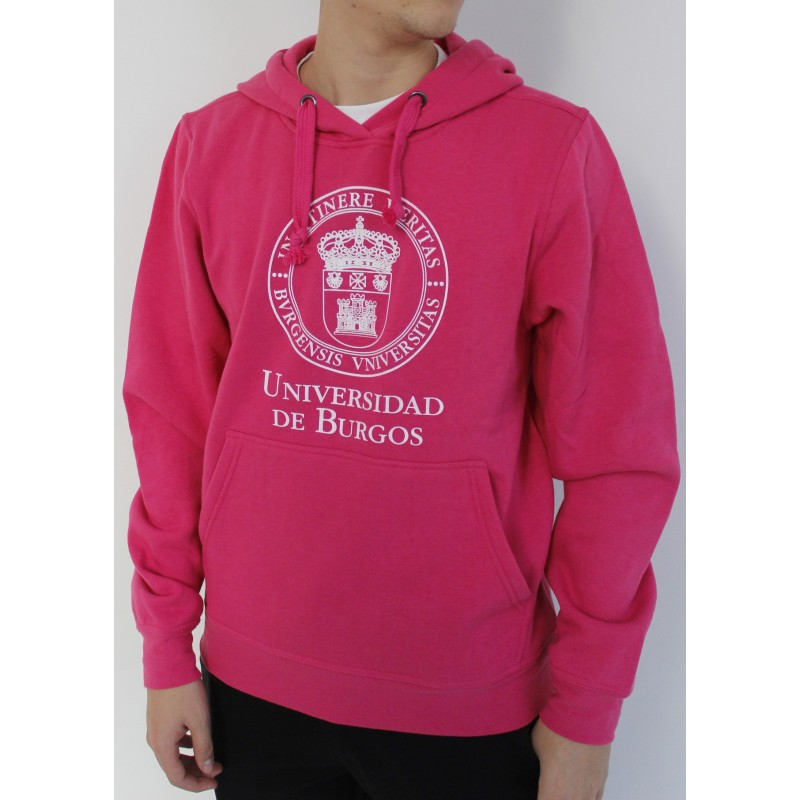 Sudadera escudo UBU rosa